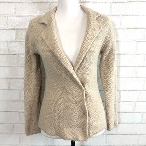 MAX MARA Cashmere Cream Sweater Blazer